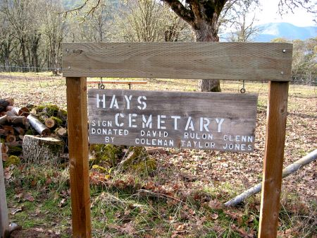 Hays and Gall Cemeteries